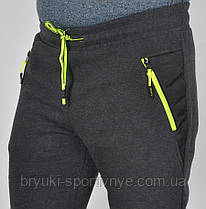 Штаны спортивные тёплые байковые , фото 3