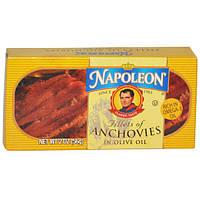 Napoleon Co., Филе анчоуса в оливковом масле, 2 унции (56 г)