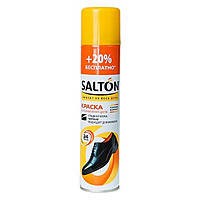 Краска Salton для гладкой кожи (обувь,куртки) 250мл. (Черный)