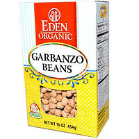 Eden Foods, Натуральные бобы нута, 16 унций (454 г)