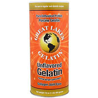 Great Lakes Gelatin Co., Свиной желатин, коллаген для суставов, без вкуса, 454 г (16 oz)