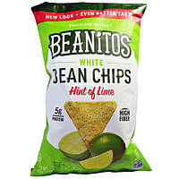Beanitos, Чипсы из белой фасоли, аромат лайма, 6 oz (170 г)