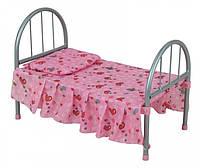 Кровать для кукол железная