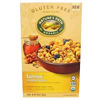 Natures Path, Органические хлопья Sunrise Crunchy Honey, 300 г (10,6 унций)