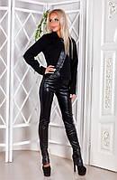 Стильный женский брючный костюм 220720