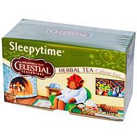 Celestial Seasonings, Травяной чай Время для сна, Без кофеина, 20 чайных пакетиков