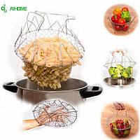 Складная фритюрница для приготовления пищи Chef Basket