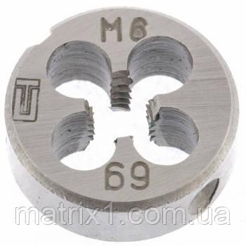 Плашка М6 х 1,0 мм// СИБРТЕХ