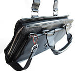 Мужская сумка - портфель Salvatore Ferragamo. Качественная сумка. Стильная мужская сумка., фото 3
