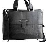 Мужская сумка - портфель Salvatore Ferragamo. Качественная сумка. Стильная мужская сумка., фото 5