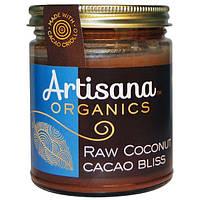 Artisana, Органическое кокосовое масло с какао, шоколадная паста, 8 унций (227 г)