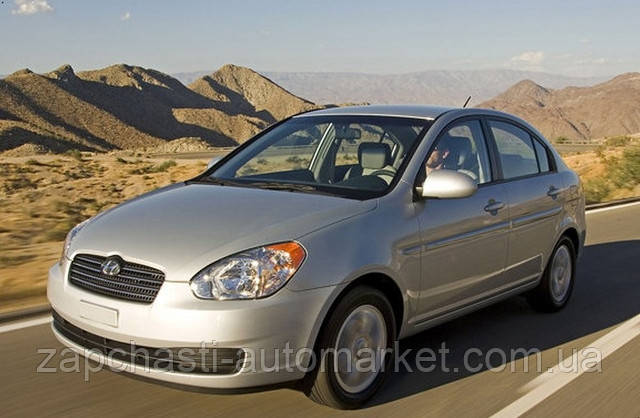 (Хюндай акцент) Hyundai Accent 2006-2010 (MC)