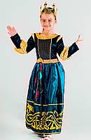Придворная дама фрейлина №1 в бирюзе прокат карнавального костюма