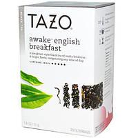 Tazo Teas, Черный чай английский завтрак, 20 фильтр-пакетиков, 1.8 унций (51 г)