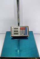 Весы торговые электронные ACS 300 кг 40*50 Domotec 6V с железной головой