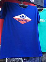 Футболка мужская с надписью Adidas Адидас (Бренд)