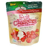 Brothers-All-Natural, Raspberry & Fuji Apple Clusters, 1.25 oz (35 g)