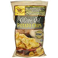 Good Health Natural Foods, Картофельные чипсы с оливковым маслом и розмарином, 5 унций (142 г)