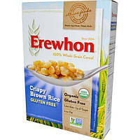 Erewhon, Каша из хрустящего коричневого риса без глютена, 10унций (284г)