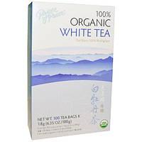 Prince of Peace, 100% органический белый чай, 100 маленьких пакетиков, 1.8 г шт.