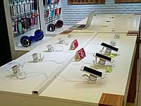 """Моно стенд для защиты различных товаров с 2 мя датчиками usb разъём, мини или датчик """"петля""""+ пульт управления"""