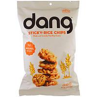 Dang Foods LLC, Чипсы из клейкого риса, оригинальный рецепт, 3,5 унций (100 г)