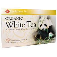 Uncle Lees Tea, Органический белый чай, 100 чайных пакетиков, 5,29 унции (150 г)