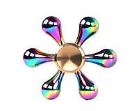 Оригинальный Прикольный Сувенир Игрушка Спиннер Toy Spinner UK K8 Вертушка Антистресс Металлический