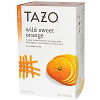 Tazo Teas, Травяной чай без кофеина Дикий сладкий апельсин, 20 фильтр-пакетиков, 1,58 унции (45 г)