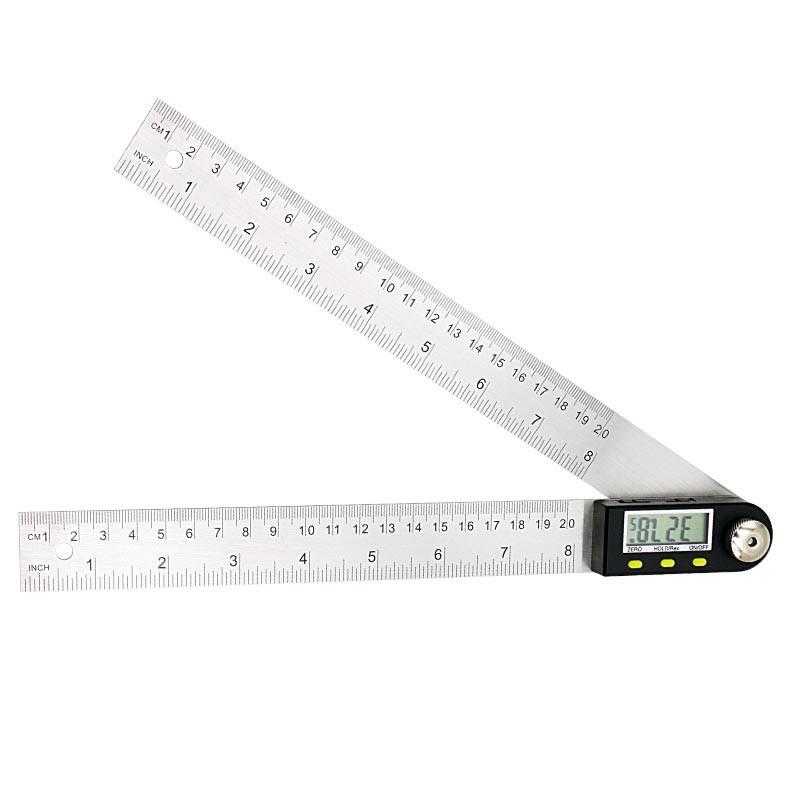 Угломер электронный ( транспортир, малка ) Shahe 5422-200 с линейкой 200 мм