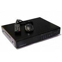 Домашний видеорегистратор на 4 камер без жесткого диска с возможностью удаленного доступа  DVR 6104V