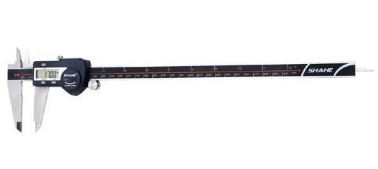 Штангенциркуль электронный Shahe (5110-300) 0-300/0,01 мм с бегунком, IP54