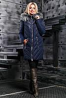 Зимняя женская куртка пальто (50-52), доставка по Украине