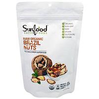 Sunfood, Сырые Органические Бразильские Орехи, 8 унций (227 г)