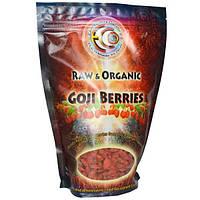 Earth Circle Organics, Ягоды годжи, сырые и органические, 16 унций (454 гр)