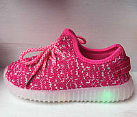 Детские кроссовки с подсветкой, мигающие 25-30 рр.