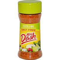 Mrs. Dash, Смесь приправ, фиеста-лайм, 2.4 унции (68 г)