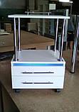 Візок з УФ лампою з висувними ящиками V166, фото 2