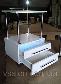Тележка с УФ лампой с выдвижными ящиками V166