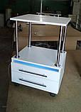 Візок з УФ лампою з висувними ящиками V166, фото 3