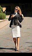 Женский пиджак короткий стильный