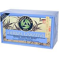 Triple Leaf Tea, Травяное слабительное, 20 пакетиков, 1.4 унций (40 г)