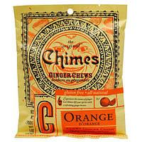 Chimes, Ginger Chews, Orange, 5 oz.