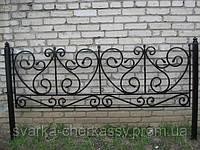 Ритуальные ограды (10 фото)