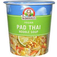 Dr. McDougalls, Тайская лапша, Суп с лапшой, Свежий вкус, 2 унции (57 г)