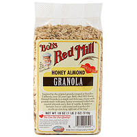 Bobs Red Mill, Гранола с медом и миндалем, 18 унций (510 г)