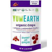YumEarth, Органические леденцы с витамином C, Anti-Oxifruits, 93,5 г