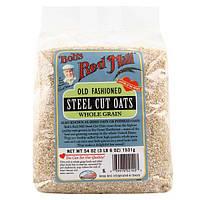 Bobs Red Mill, Необработанный овес, 3 lbs 6 oz.