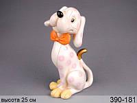 Статуэтка Собака 25 см полистоун