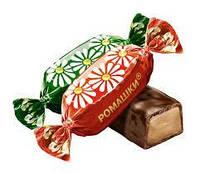 Конфеты шоколадные Ромашка фабрика Красный Октябрь